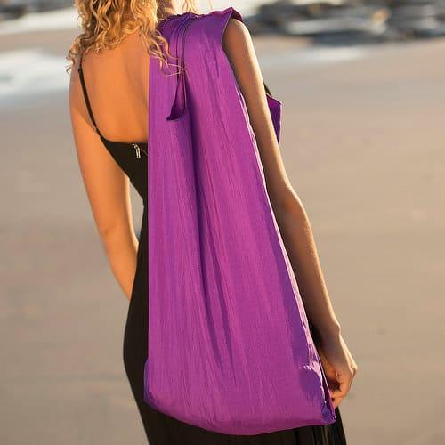 EcoSilk Bags Amethyst Ecosilk shoulder bag beach